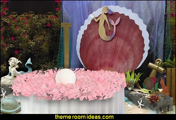 Oyster Shell Prop party props