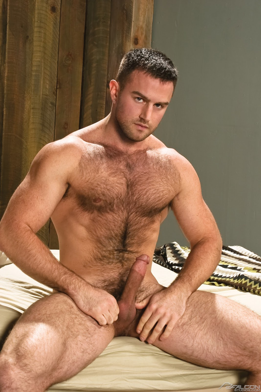 hairy chest gay nude men