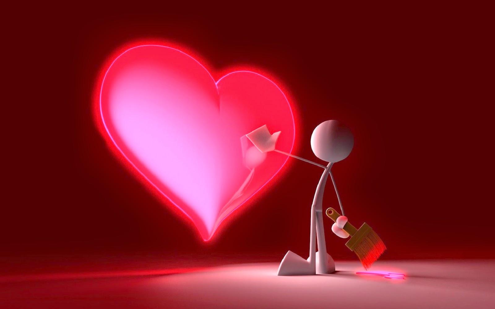 Romantic love hd wallpapers 3d love images love heart - Love wallpaper download 3d ...