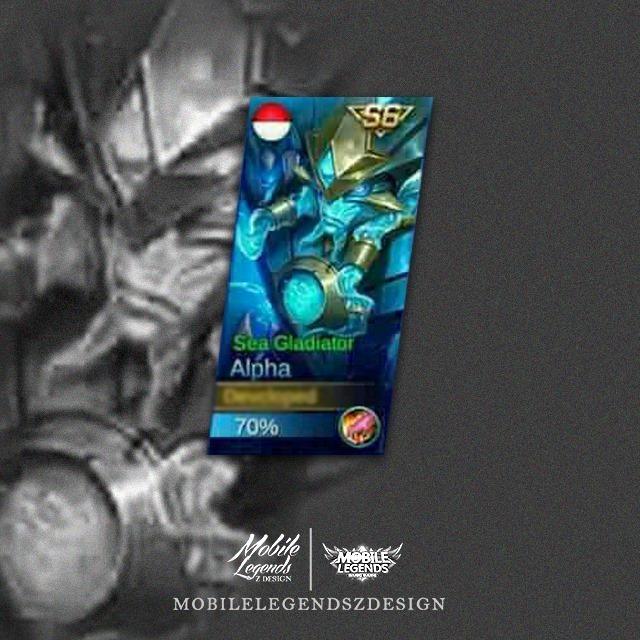 Saber - Sea Gladiator (Skin Ekslusif Season 6)