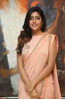 Eesha Rebba in beautiful peach saree at Darshakudu pre release ~  Exclusive Celebrities Galleries 023.JPG