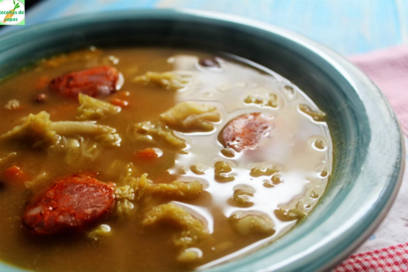 sopa de feijao encarnado