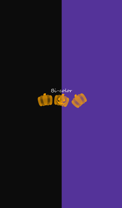 Bi-color -Dark Halloween-