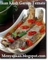 Ikan Kuah Garam Khas Ternate