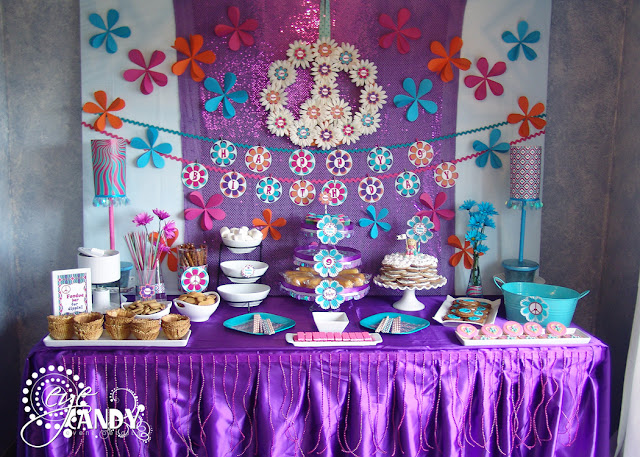 peace party dessert table
