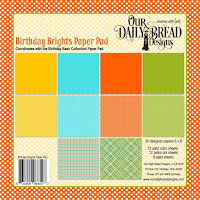 ODBD Birthday Brights Paper Collection