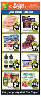Price Chopper Weekly Flyer Circulaire August 16 - 22, 2018