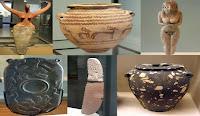 تماثيل وأدوات وأواني حضارة البدارى من عصر ما قبل الأسرات في مصر