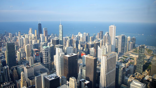 Chicago city view