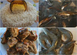 Paella Chiringuito Veraniega Receta Ingredientes