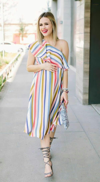One Side Off SHOULDER Dress
