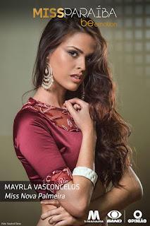 Jovem de Nova Palmeira concorre a Miss Paraíba 2016