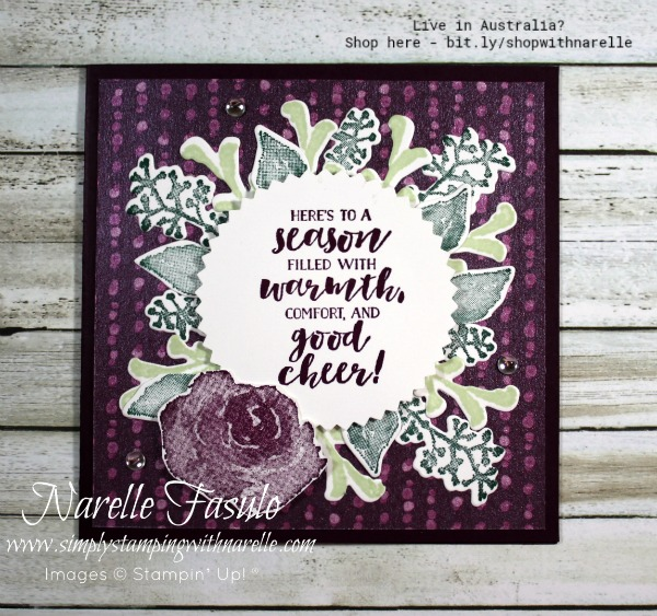 The Frosted Floral Product Suite is everything you have been looking for. With its gorgeous stamps, matching framelits and pealed paper, you can make stunning creations easily. Check it out here - http://bit.ly/FrostedFloralSuite