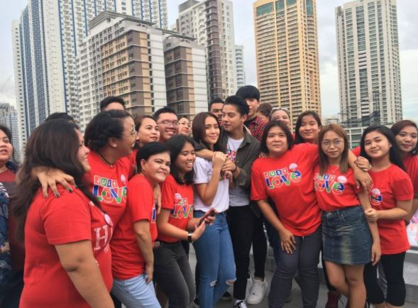 Behind the Scene Photos of La Luna Sangre Stars in ABS-CBN Christmas Station ID 2017: #JustLove
