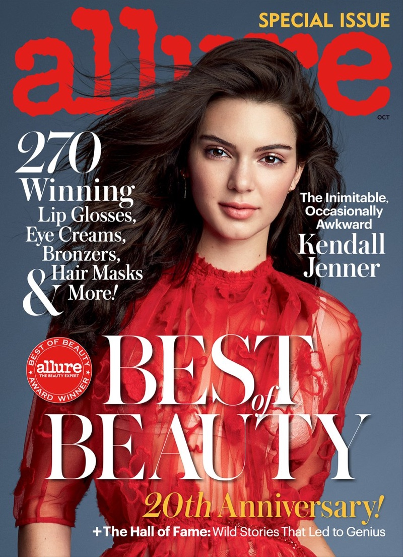Kendall Jenner wears Fall designs for Allure Magazine