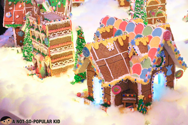 Ginger bread houses in Midas Hotel and Casino