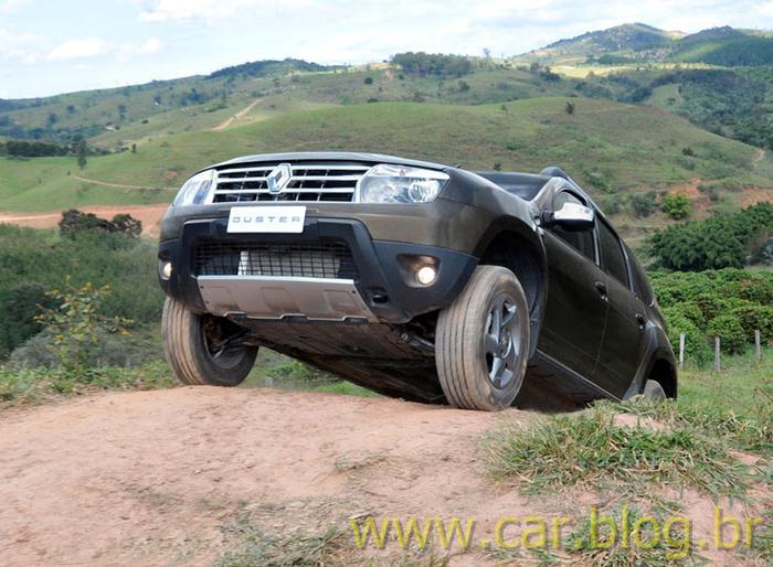 Renault Duster 2012 - ângulo de ataque