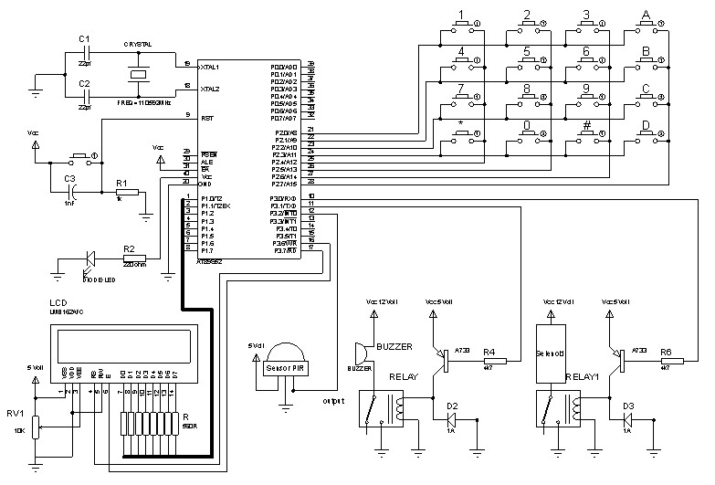 pir sensor based security system 2013 electronic circuits and diagram