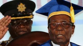 Zimbabwe latest: Ruling Zanu-PF urges Mugabe to step down