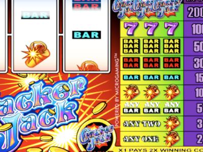 Get More Gaming Pleasure Ahead Of 2018 By Playing Cracker Jack Slots