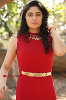 Telugu Actress Zahida Sam Latest Pos in Red Gown at RF Films New Movie Opening  0090.JPG