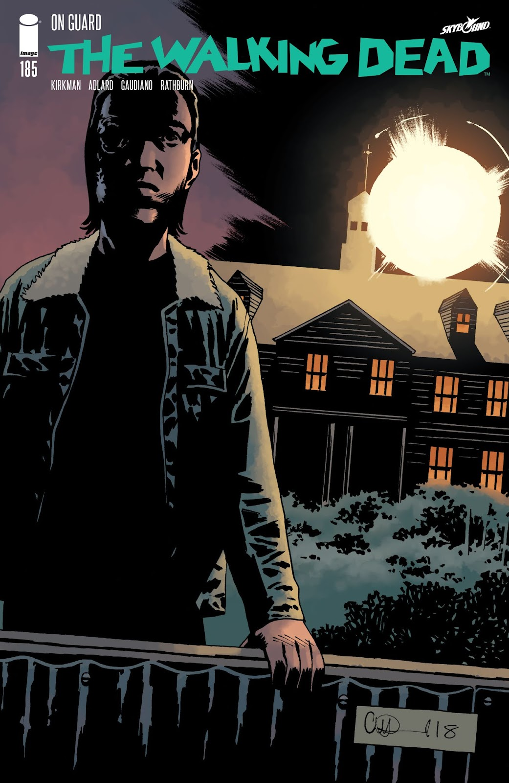 The Walking Dead Issue #185 Page 1