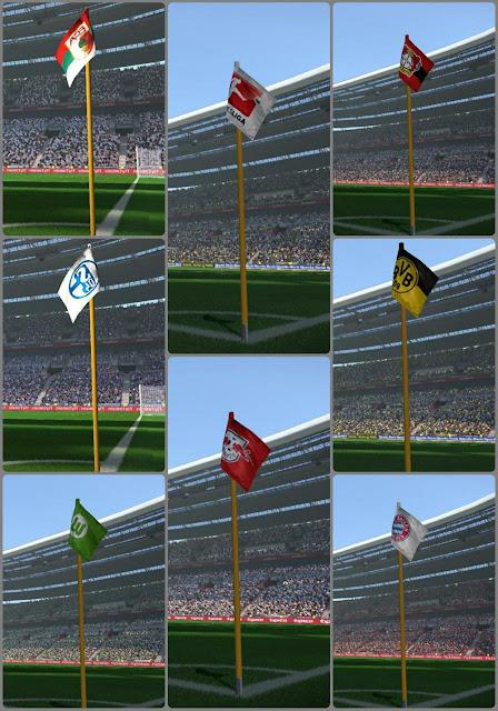 PES 2017 Corner Flag Pack dari Leo05