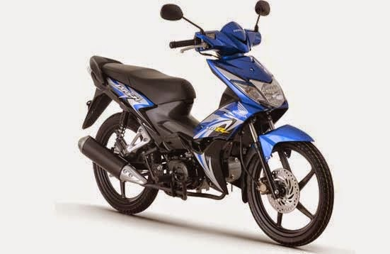 Honda Wave Dash 110 Candy Lightning Blue