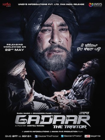 Gadaar The Traitor 2015 Punjabi Movie Download