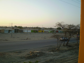 View from my house in Piura