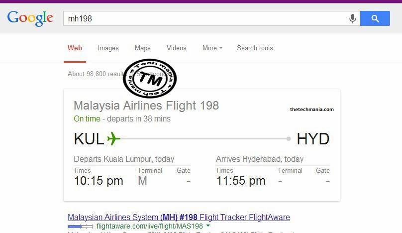 Use Google Differently - Flight Status