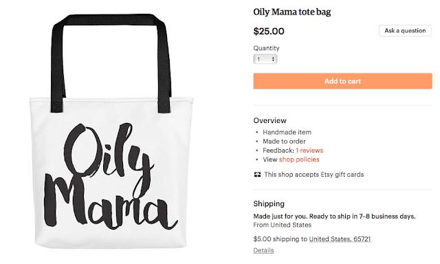 Oily Mama Tote Bag