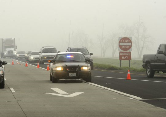 visalia tulare county highway 198 three-car pileup semi truck crash