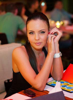 Elena bei einem Date in der Ukraine