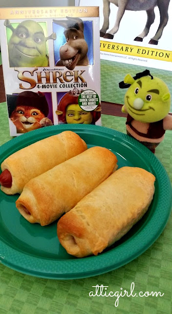 Shrek Pigs in a Blanket