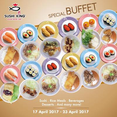 Sushi King Special Buffet Promo
