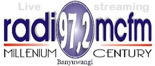 Streaming Radio 97.2 MCFM Genteng Banyuwangi