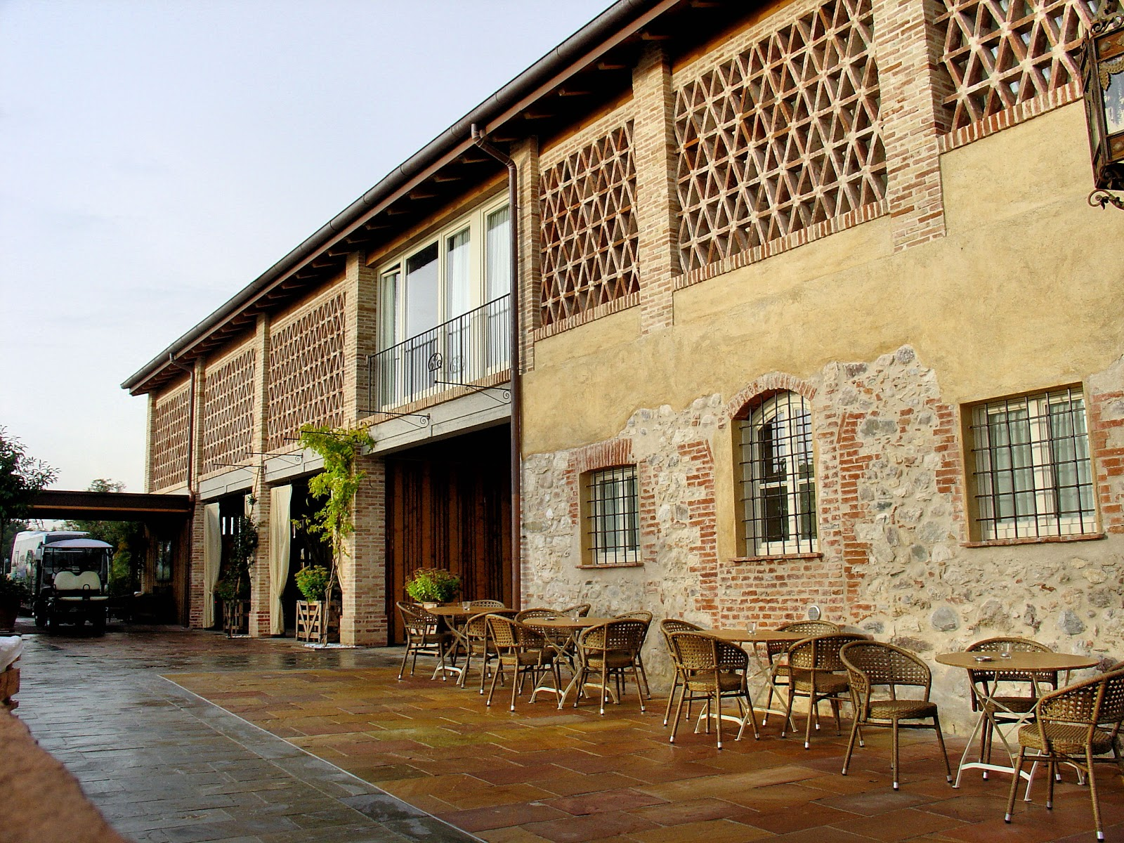 Rustic charm abounds at Le Ali del Frassino.