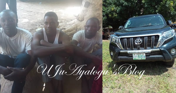 Car Thieves From Niger Republic Arrested In Niger State