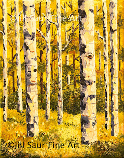 aspen trees, galleries in atlanta, artwork paintings