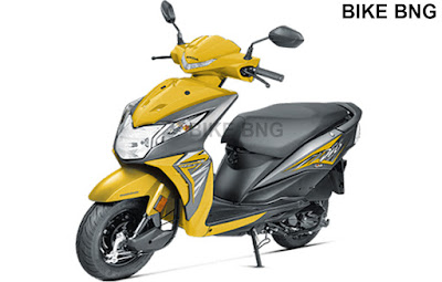 Honda Dio price 2018