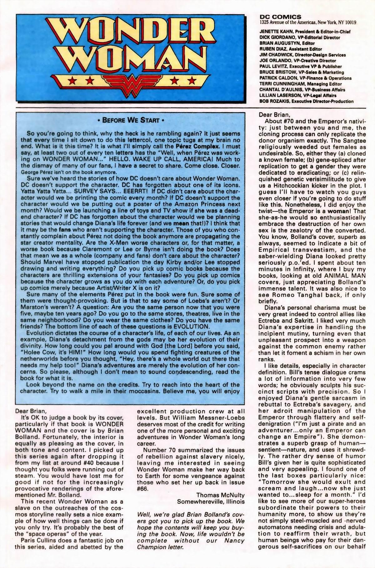 Read online Wonder Woman (1987) comic -  Issue #76 - 23