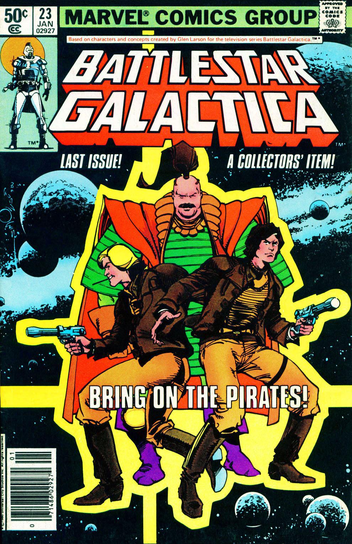 Battlestar Galactica 23 Page 1