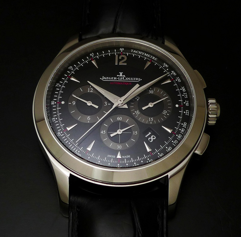 Jaeger lecoultre master chronograph ref q153847n time and watches for Chronograph master