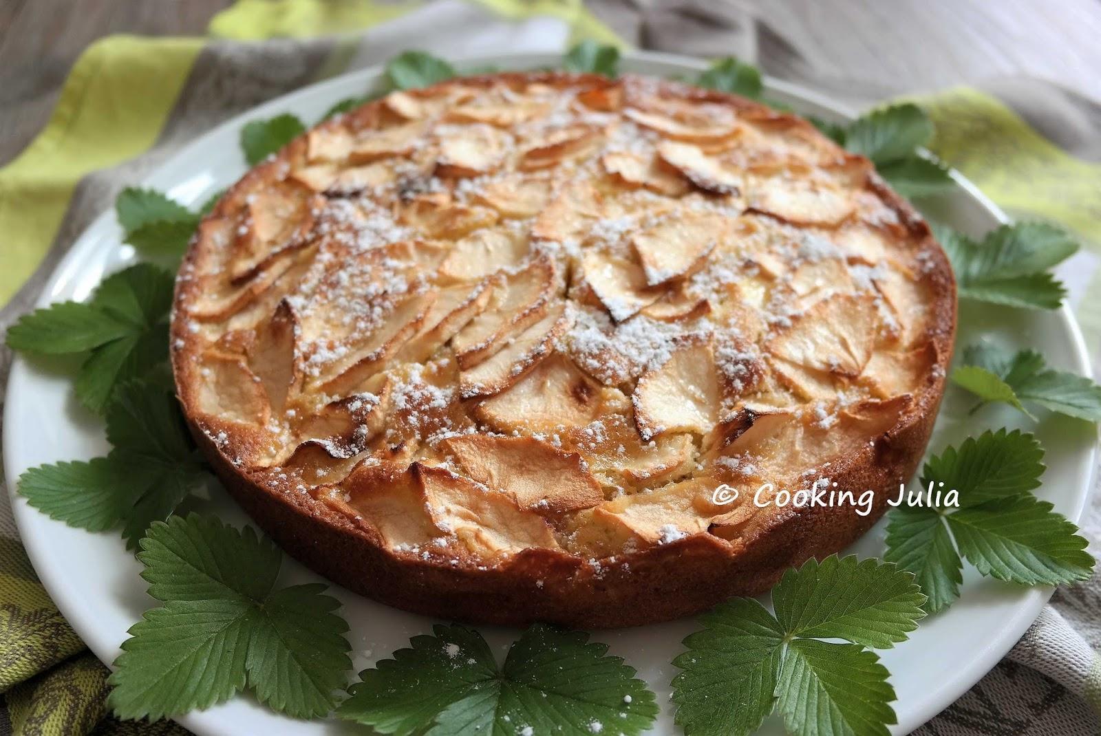 Cooking Julia Gateau Rapide A La Pomme