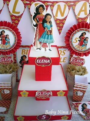 birthday custom kit Elena de Avalor