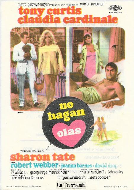 No Hagan Olas - Programa de Cine - Tony Curtis - Claudia Cardinale
