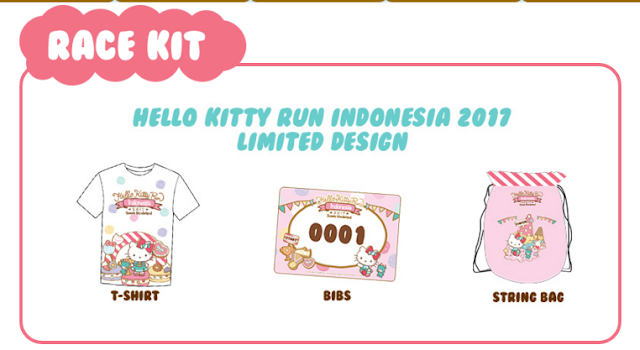 Lari Hello Kitty Run Indonesia 2017
