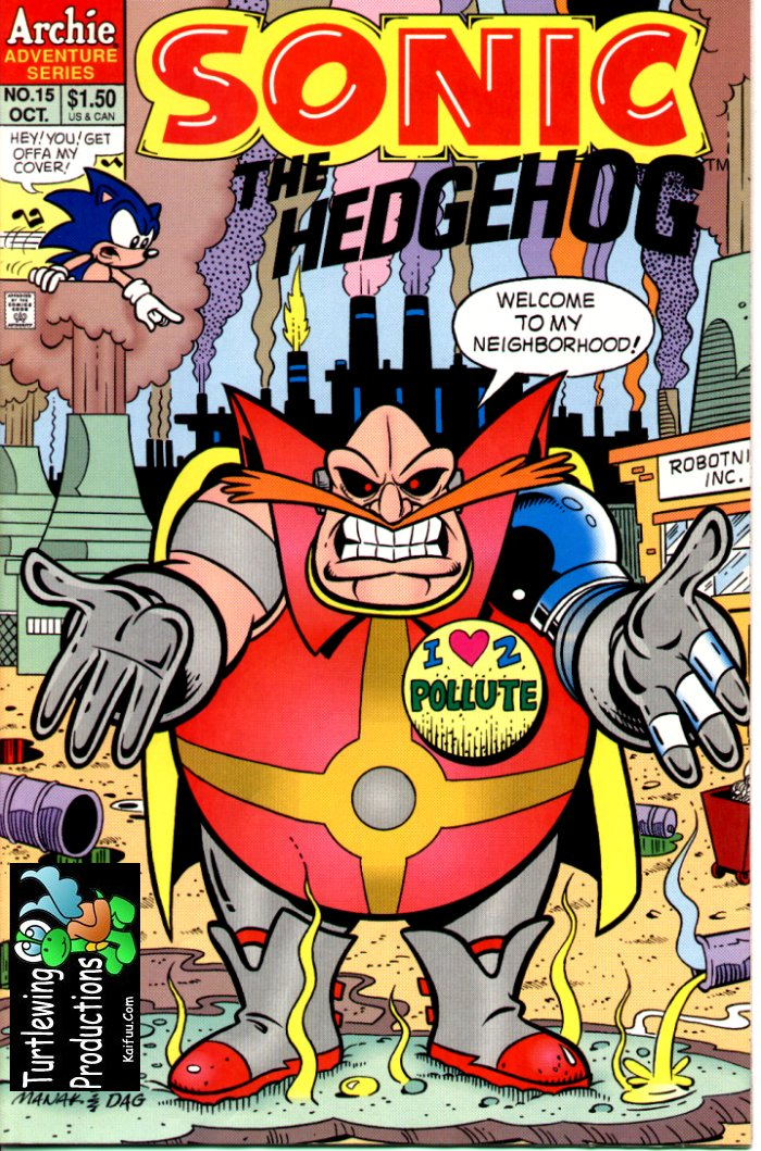 Read online Sonic The Hedgehog comic -  Issue #15 - 1