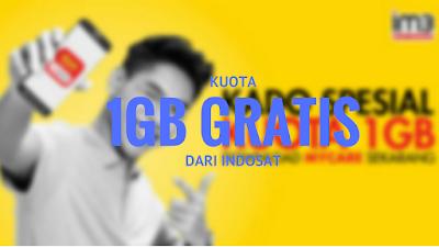 Terbaru Ini Dia Tutorial Dapat Kuota 1GB Gratis dari INDOSAT 8